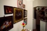 Die glamouröse Ecke der Ausstellung