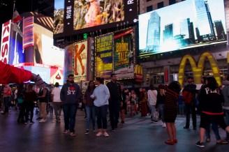 I ❤ NY - Menschen auf dem Times Square