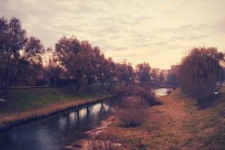 Der Zibin ist wie eine Grenze zwischen dem historischen Hermannstadt und den Vororten