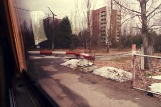 Checkpoint vor dem Betreten der Geisterstadt