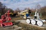 Durch die hohe Radioaktivität sind die Roboter sehr schnell kaputt gegangen und mussten von Menschen ersetzt werden