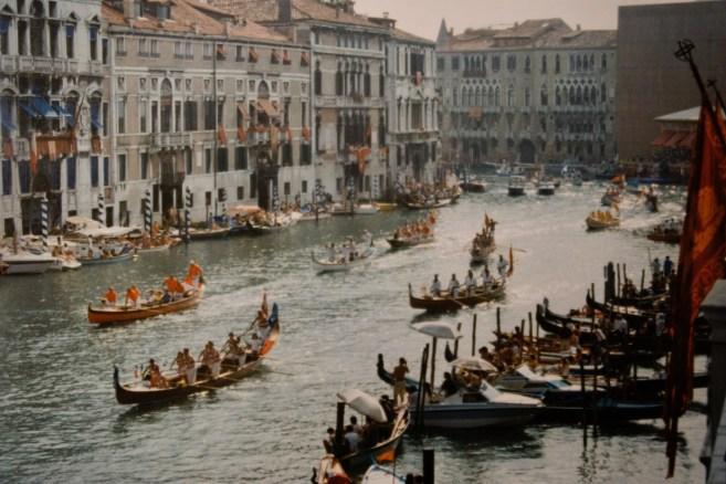 Die Regata Storica ist die wichtigste Regatta von Venedig und die traditionsreichste Regatta Europas