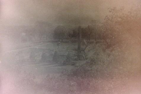 Das Römerbad mit einem sehr alten Film