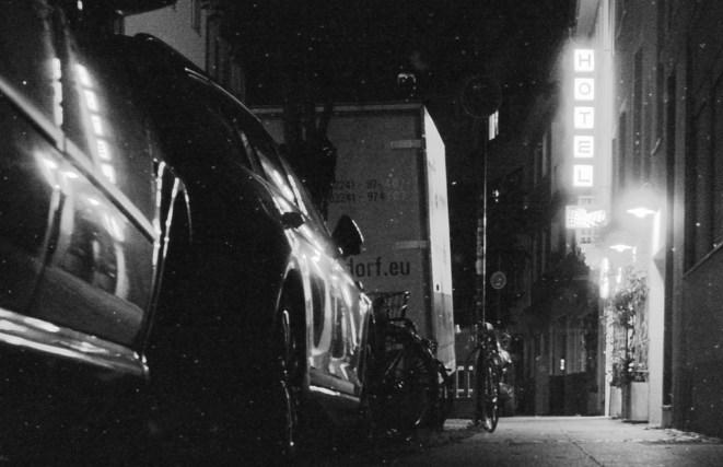 Hotel Aigner nachts