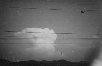 Große Wolken über dem Siebengebirge