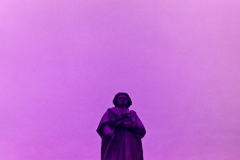Beethoven im violetten Himmel