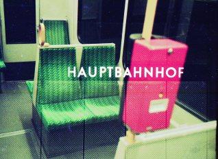 Doppelbelichtung U-Bahn Bonn - Hauptbahnhof