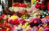 Bunter Blumenladen im Bombay 2