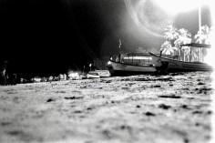 Palolem Beach at night 1