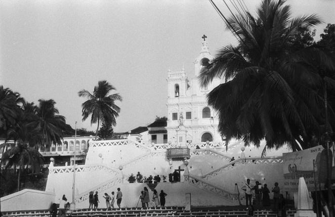 Kirche Unserer Lieben Frau von der Unbefleckten Empfängnis in Panjim, Goa