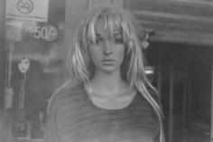 Sexy Frisur einer Schaufensterpuppe