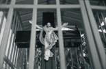 Jesus im Käfig
