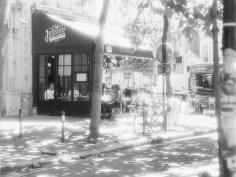 Straßencafé auf dem Montmartre