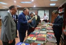 El Magistrado René Poblete Dolores realiza donativo de libros al Poder Judicial del Estado de Veracruz