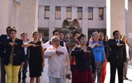 Conmemoran diputados de MORENA la gesta heroica del Batallón de San Patricio