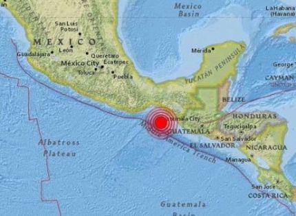 Alerta de tsunami tras sismo de magnitud 8,4 al sur de México