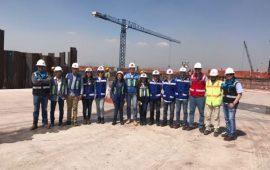 Estudiantes de Universidad de Sotavento conocen construcción del Aeropuerto Internacional