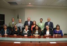 Encuentro del Magistrado Presidente Edel Álvarez, con el Colegio de Doctores en Derecho del Estado de Veracruz