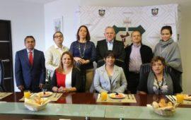 Reunión de trabajo de integrantes del Colegio Único de Jueces con el Magistrado Presidente del TSJVer, Edel Álvarez