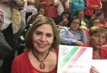 Yolanda Lagunes recibe nombramiento de Delegada del PRI en Xalapa-Urbano