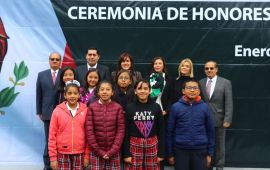 Rinde Honores a la Bandera la Tercera Sala en Materia Penal del Tribunal Superior de Justicia