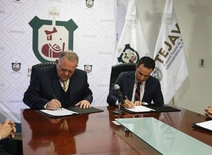 Concluye proceso de entrega-recepción de asuntos al nuevo Tribunal Estatal de Justicia Administrativa de Veracruz (TEJAV)