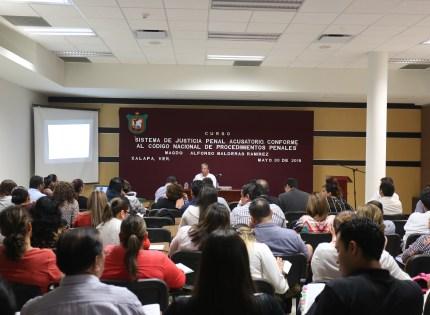 Fase de investigación inicial es básicaen el procedimiento penal, Magistrado Alfonso Balderas