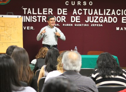 A la vista, un nuevo Código Nacional Penal: Rubén Quintino