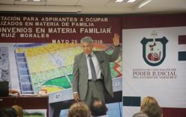 Importante considerar criterios diversos en materia de derecho familiar: Magistrado en Retiro Daniel Ruiz