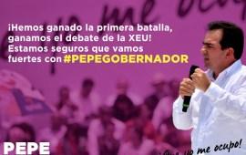 Pepe Yunes demostró en el debate, ser el mejor candidato que se ocupará de resolver tus problemas: Tizania Quijada