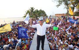 Como Senador regresaré a Veracruz con resultados en mano: Julen Rementería