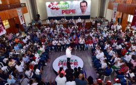 Quiero ser Gobernador para que los jóvenes veracruzanos puedan realizarse: Pepe