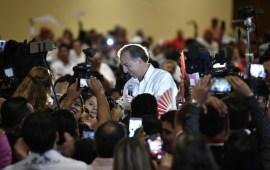 Meade se reunió con estructuras del PRI en Veracruz