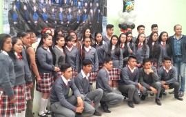 """Telebachillerato de """"Los Pescados"""" llevo a cabo su clausura del ciclo escolar 2015-2018,"""