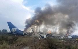 SCT informa del percance de la aeronave matrícula XA-GAL, de  Aeromexico