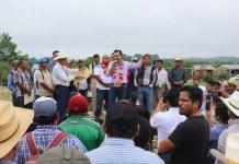 Cuitláhuac García anuncia la construcción de la carreteraLas Choapas, Cerro de Nanchital y Uxpanapa