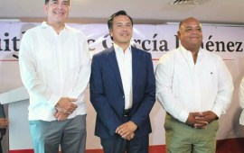 Cuitláhuac presentó a Pérez Astorga como próximo titular de la SEDECOP