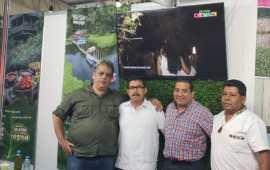 Promociona Julio Ortega a CATEMACO en la Feria Internacional de Turismo y Negocios de Querétaro