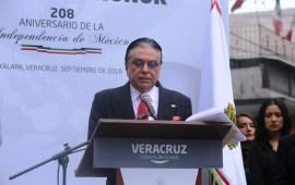 Encabeza Magistrado Presidente, Edel Álvarez Guardia de Honor con motivo del 208 Aniversario de la Independencia de México