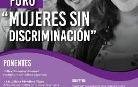 """LIVE A. C. organiza el Foro """"Mujeres sin Discriminación"""","""