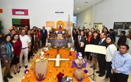 Inauguró Magistrado Presidente Edel Álvarez Muestra de Altares 2018 realizada por servidores públicos del TSJVer.