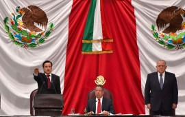 Rinde protesta, Cuitláhuac García, como Gobernador Constitucional de Veracruza