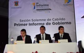 Juan Manuel Rivera, rinde su primer informe de resultados para Banderilla