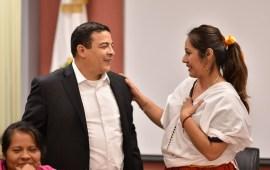 Escucha diputado Gómez Cazarín demandas de pueblos indígenas