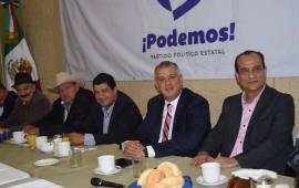 El próximo 10 de enero solicitaran registro de PODEMOS como Partido Político