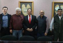 Recibe el Diputado Pozos Castro al alcalde de Emiliano Zapata