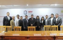 Zenyazen Escobar, instala el Consejo del Sistema Estatal del Deporte