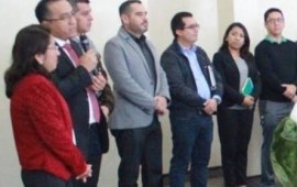 El subsecretario de EMSyS Jorge Miguel Uscanga, visitó la sede del Curso «El Proyecto Transversal en TEBA