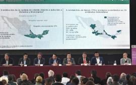 Anuncia Cuitláhuac García, inversión de 4,849 mdp para obras en municipios