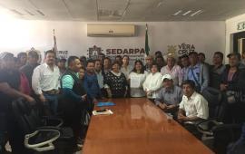 Atiende SEDARPA peticiones de pescadores de la Cuenca Media-Baja